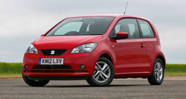 El SEAT Mii es un pequeño utilitario urbano de cuatro plazas que está disponible con carrocería de tres y cinco puertas.
