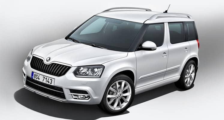 El Skoda Yeti es un todocamino compacto de cinco puertas. Se ofrece con motores diésel y gasolina de entre 110 y 150 CV.
