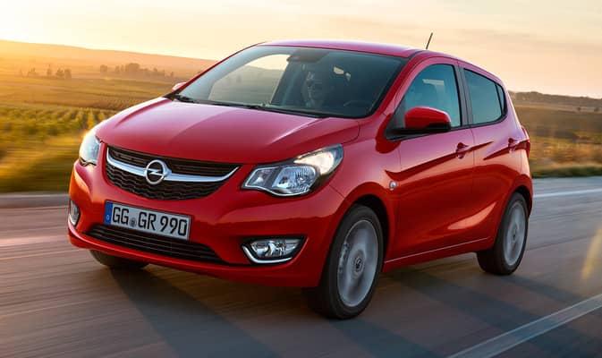 El Karl es el más pequeño de la gama Opel. Sólo se puede pedir en una única versión que limita mucho las posibilidades de personalización