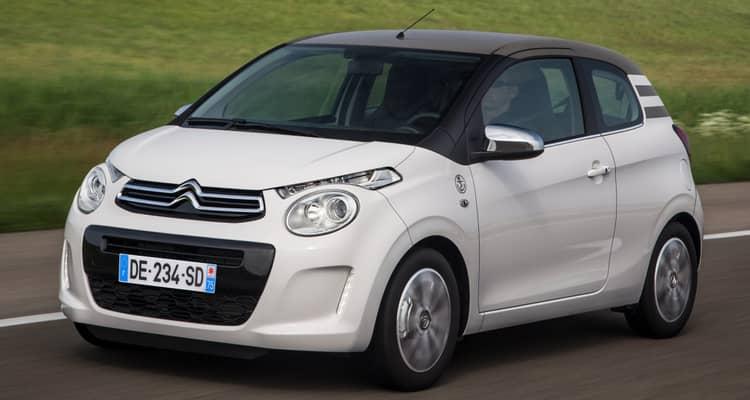 El Citroën C1 es el más pequeño de la gama. Cuenta con carrocerías de 3 y 5 puertas y muchas opciones de configuración