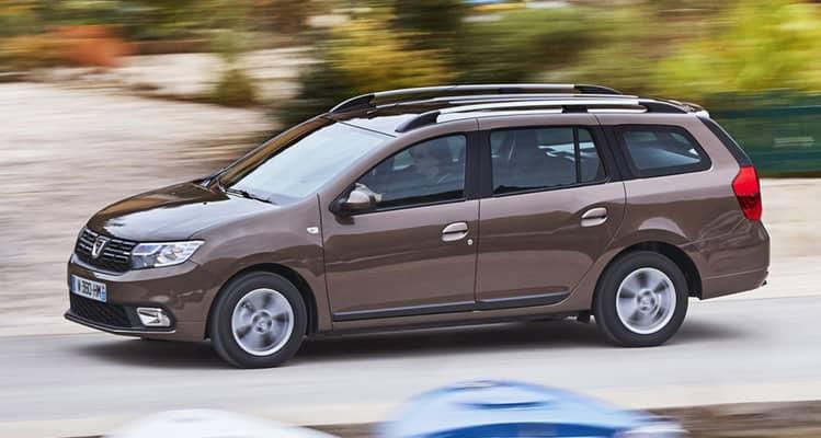 El Dacia Logan MCV es la versión familiar del popular Logan, que se extiende hasta los casi 4,5m de longitud con un maletero de 573 litros