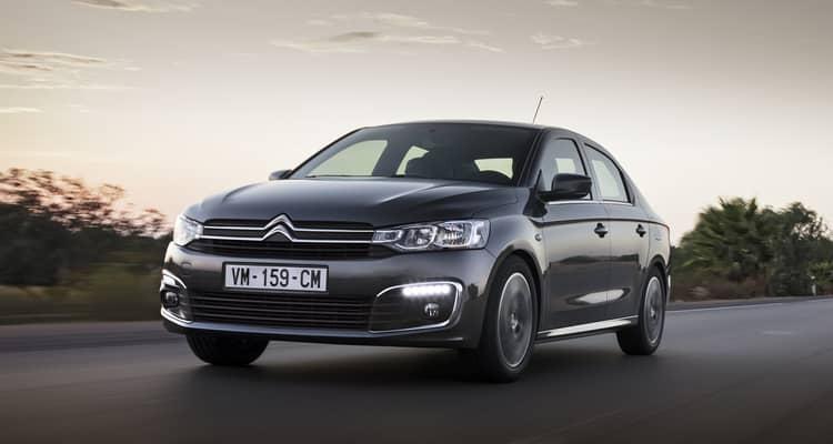 El Citroën C-Elysée es una berlina de tamaño medio con 4 puertas, 5 plazas y un enorme maletero.